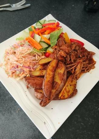 Pulled Pork & Wedges